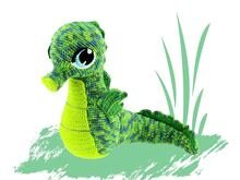 Seahors Pattern Amigurumi PDF Deutsch - English