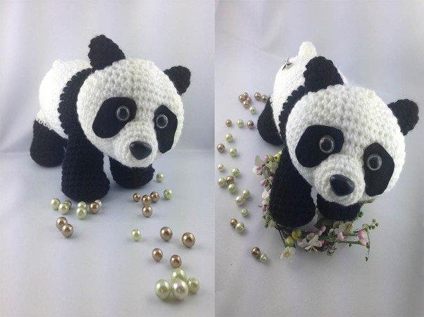 Panda Pandabär Pascal Häkelanleitung Amigurumi Häkeln Pdf