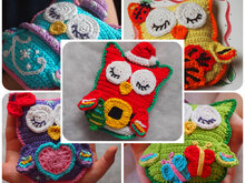Owl Collection - 5 patterns by the price of three. Design Discount Pattern Package