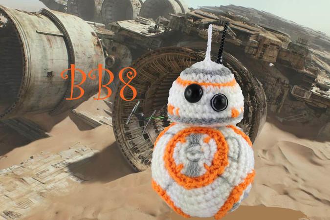 Star Wars Bb8 Häkelanleitung Amigurumi Häkeln Pdf