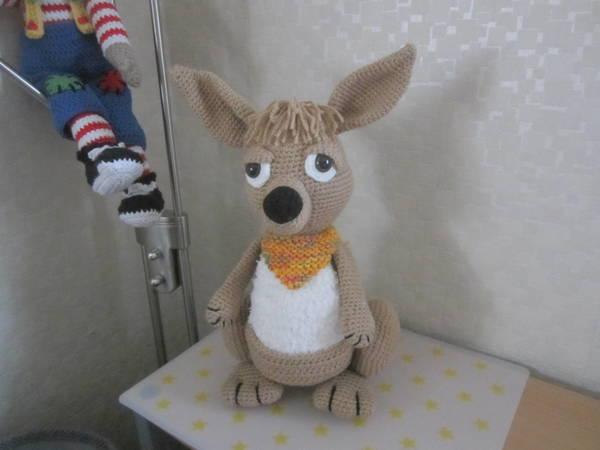 Känguru häkeln // niedliches Amigurumi häkeln