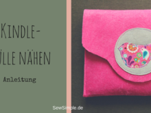 Kindle-Hülle nähen | Anleitung mit Schnittmuster