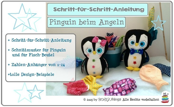 E-Book Pinguin beim Angeln Adventskalender