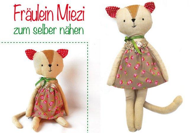 Fräulein Miezi - Nähanleitung & Schnittmuster