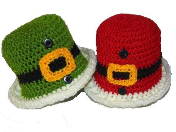 E-Book * Weihnachts-Hut * Santa´s Hat - Pixie-Hat * Häkelanleitung ...