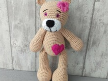 Crochet Pattern Teddy
