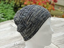 "Knitting pattern Beanie ""Ansgar"", one size"