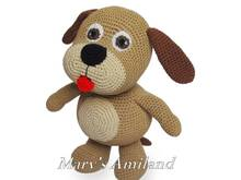 Willy Dog The Ami - Amigurumi Crochet Pattern