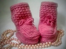 P A T T E R N Knitting Baby Boots