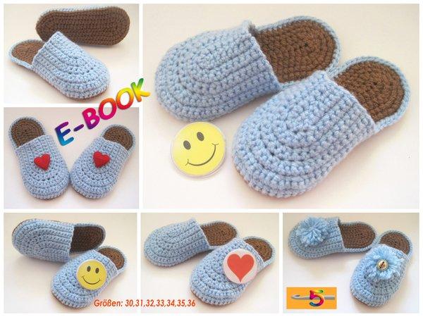 Socken häkeln und Babyschuhe häkeln - Häkelanleitungen hier ✓