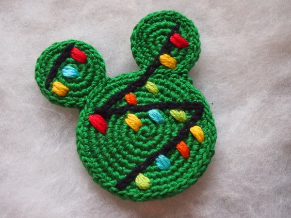 Christmas Ornament Mickey And Minnie Mouse Christmas Tree Crochet