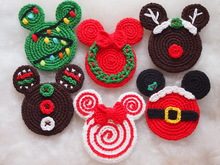Awesome Minnie Mouse Bonnie Crochet Pattern By HavvaDesigns No.1 ... | 165x220