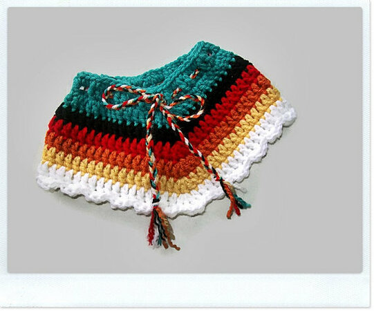 Baby Indian Costume Pattern