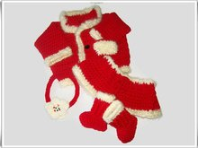 Baby Christmas Jacket Skirt Set Pattern
