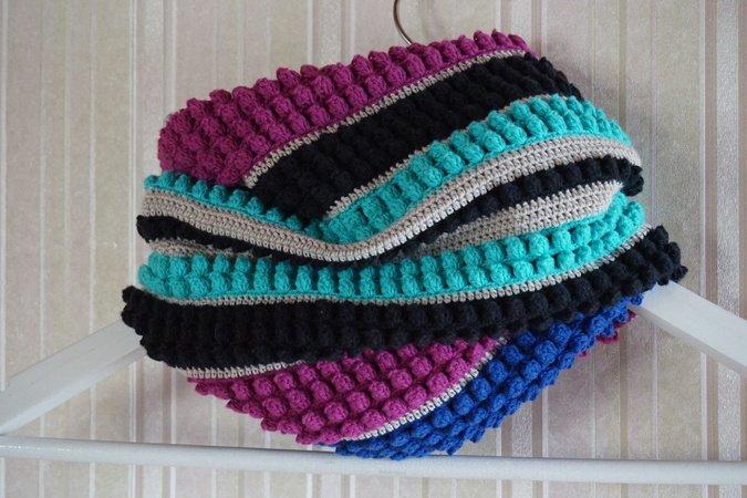 Neck Warmer Infinity Scarf Asta Crochet Pattern