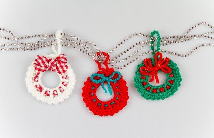 Amigurumi Häkeln Weihnachten Häkelanteilung Kranz Pullover