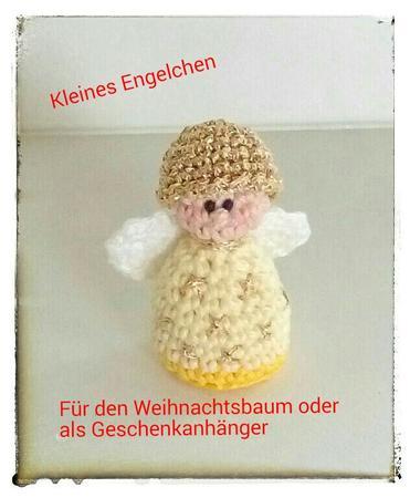 Engel Hakeln Christbaumschmuck Schutzengel
