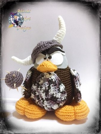 Viking Amigurumi Pattern, Viking Crochet Pattern, Crochet Viking ... | 450x338