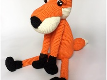 Amigurumi Fox crochet pattern PDF tutorial