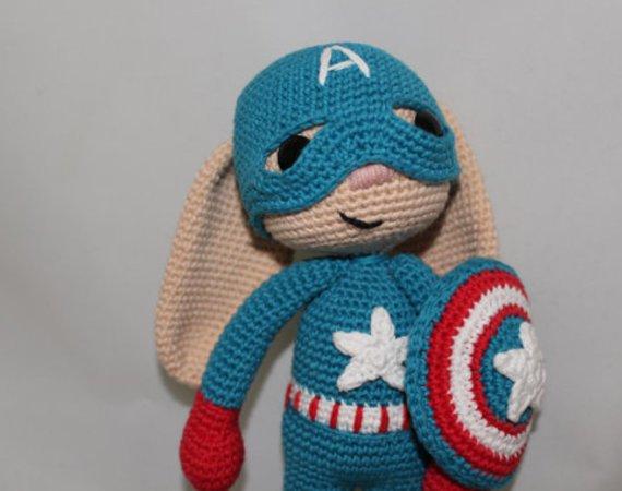 Iron Man Amigurumi – Minasscraft Patrones Amigurumis | 450x570