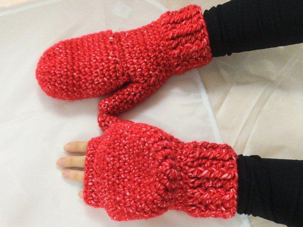 Handschuh-Stulpen Häkelanleitung