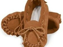 Women's Size 4 Moccasin Pattern