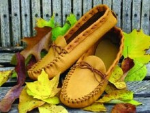 Women's Size 10 Moccasin Pattern