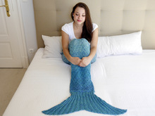 knitting pattern for a mermaid blanket (148) step-by-step pattern
