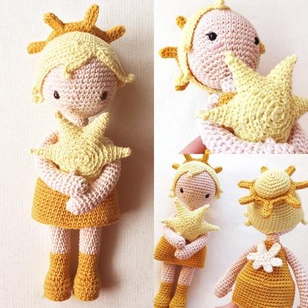 Estrella Amigurumi Puppe Engel Häkelanleitung By Polaripop