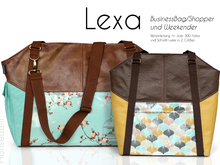 E-Book Tasche Lexa / Lexa Big Businessbag und Weekender