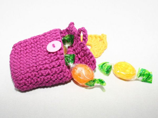 Mini Candle Bag - Gift Tag - Advent Calendar - Crochet Pattern