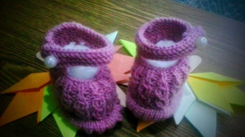 Knitting Вaby boots pattern