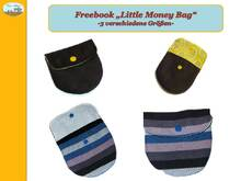 Freebook, Anleitung Little Money Bag, Geldbörse
