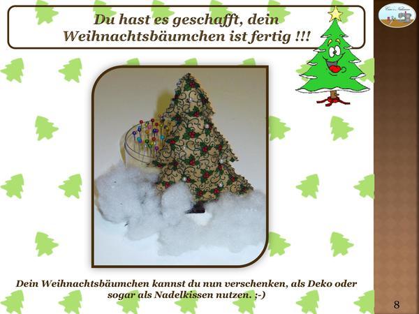 freebook weihnachtsbaum kostenlose anleitung schnittmuster. Black Bedroom Furniture Sets. Home Design Ideas