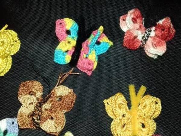 Schmetterling - Butterfly - Häkelanleitung
