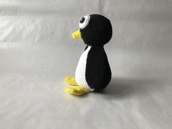 Hakelanleitung fur Pinguin Amigurumi