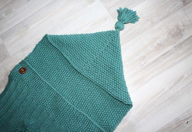 strickanleitung baby schlafsack schlupfsack mit eulenmotiv ca 0 7 monate. Black Bedroom Furniture Sets. Home Design Ideas
