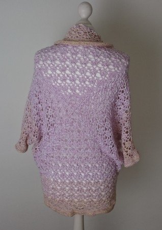Esmeralda - shrug, all sizes (crocheting)