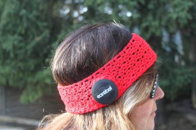 Stirnbänder und Haarbänder häkeln - Häkelanleitung Stirnband
