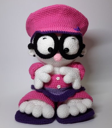 h kelanleitung kleine missy amigurumi puppe. Black Bedroom Furniture Sets. Home Design Ideas