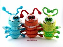 Crawling Beetle -- Crochet pattern by Haekelkeks