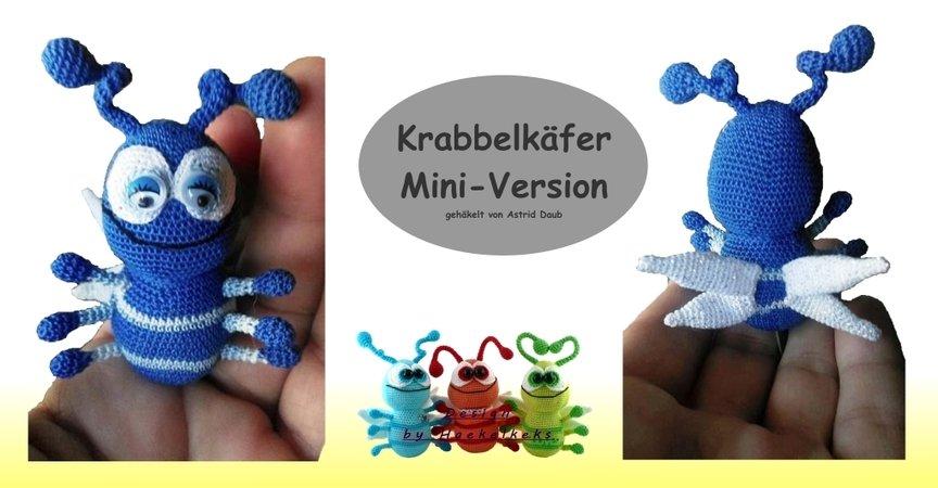 Crawling Beetle -- Crochet pattern by Haekelkeks | 450x864