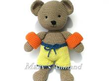 Oliver Bear The Ami - Amigurumi Crochet Pattern