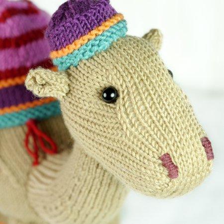 Kemal The Camel knitting pattern | 450x450