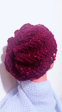 Crochet Pattern Slouchy hat, storm beanie, Knit look and textured Hat sizes Child to Adult Large