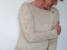 "Knitting Pattern Pullover ""Dawsons Sweater"""