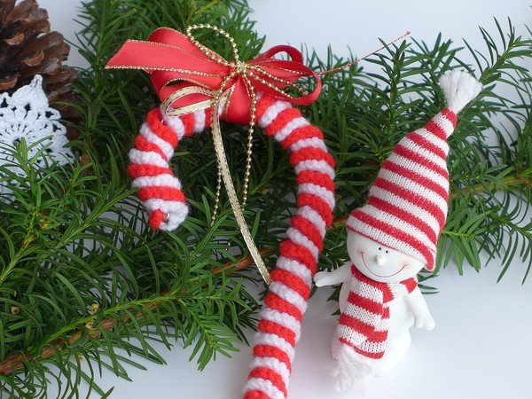 Candy Cane - Crochet Pattern