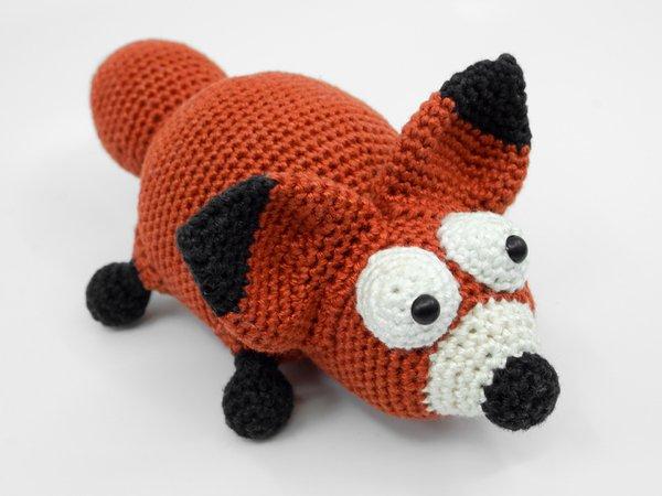 Red Panda Amigurumi Crochet Pattern | 450x600