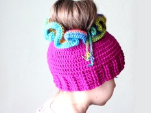 Messy Bun Hat, Ponytail Hat Crochet Pattern