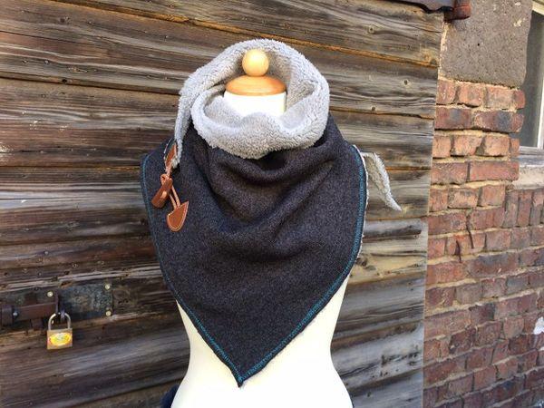 Schöne Schals nähen - z. B. trendigen Schlauchschal nähen
